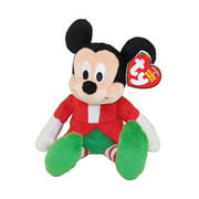 TY Beanie Baby - Disney - MICKEY MOUSE (Holiday Outfit - Walgreens Excl) (7 inch)