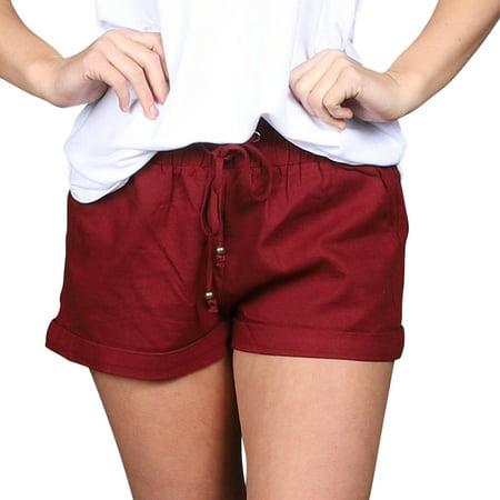 Jade Silk Shorts - Plus Size Linen Shorts