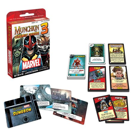Munchkin Marvel 3: Cosmic Chaos - Chaos Common Card