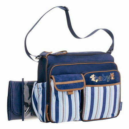 child of mine carters com lg blue diaper bag. Black Bedroom Furniture Sets. Home Design Ideas