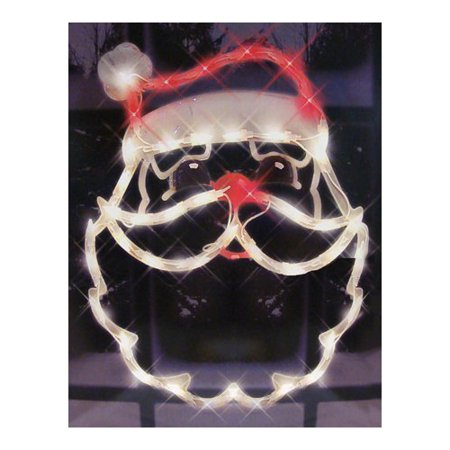 IMPACT INNOVATION-IMPORT 95013 25x1x17 Santa - Plastic Santa