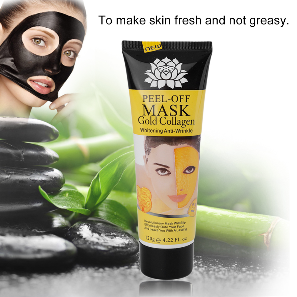 Facial Skin Cleaning Purifying Mask Nose Acne Blackhead Remover Peel Off Mask