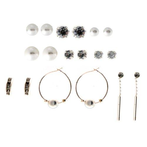 Essentials Multi Ear 9-on Sil Pearl Ear