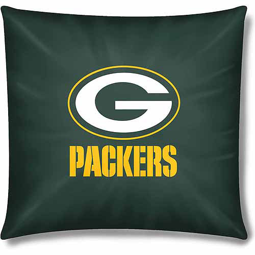 "Packers Official 15"" Toss Pillow"