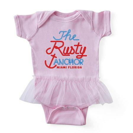 Rusty Anchor (CafePress - Golden Girls Rusty Anchor - Cute Infant Baby Tutu Bodysuit )