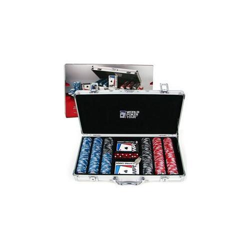 WMU World Poker TourT 300 Poker Chip Set