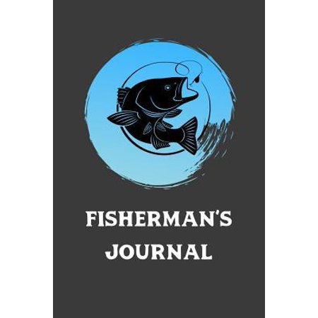 New Angler Fish (Fisherman's Journal: Record Fish Caught, Where, Type Of Lure, and Weather Conditions. Great Tackle Box Accessory, Allows Angler To Learn Fr)
