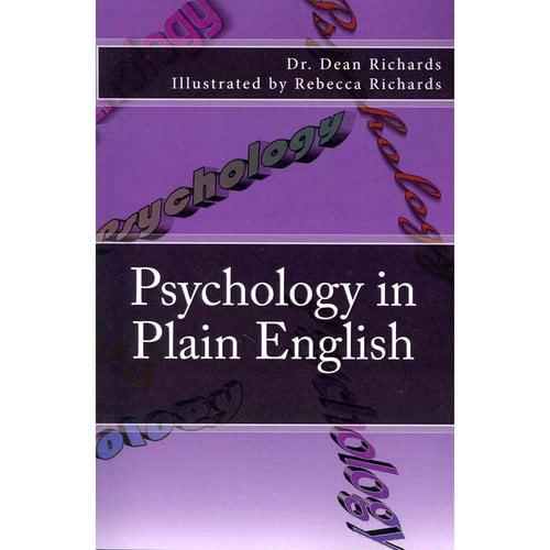 Psychology in Plain English