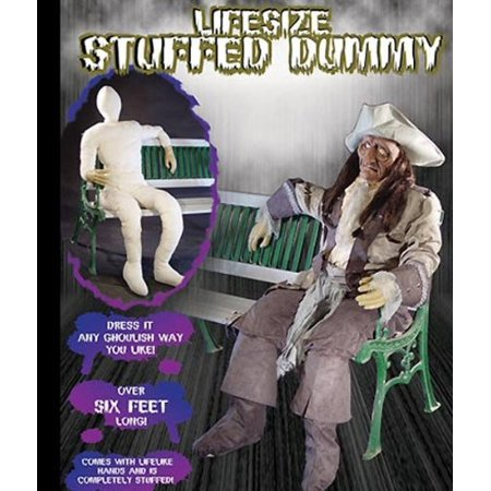 morris costumes costumes for all occasions mr124202 dummy poseable with hands-arms - Test Dummy Costume