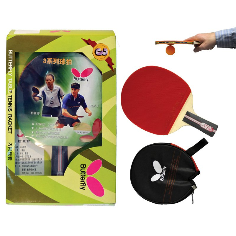 Butterfly 302 Penhold Ping Pong Racket by Butterfly