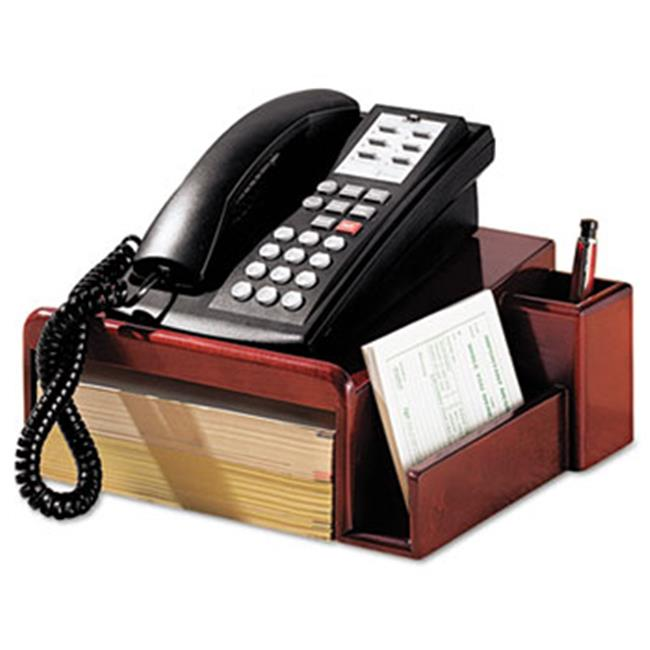 Eldon Office Products 1734646 Wood Tones Phone Center Desk Stand, 12 1/8 x 10, Mahogany