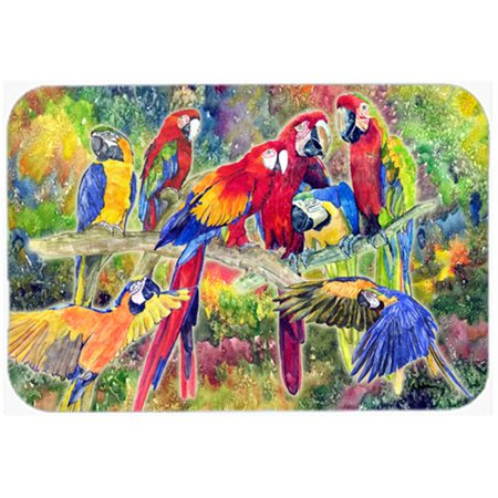 Carolines Treasures 8600LCB Parrot Glass Cutting Board - Large, 15 H x 12 L in. - image 1 of 1