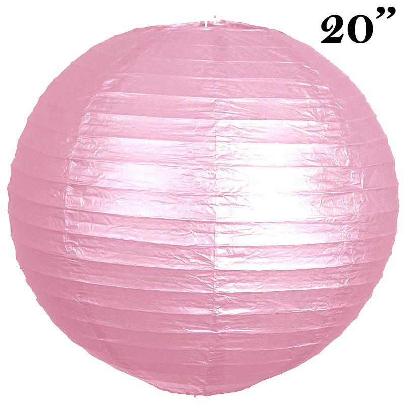 """Efavormart 20"""" Paper Chinese Lantern Lamp Shade Hanging Party Event Decor Set For Wedding Party Banquet Event Decoration - 12 PCS"""