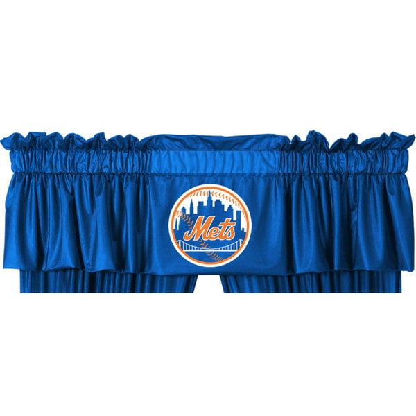 Sports Coverage Inc. MLB New York Mets 88'' Curtain Valance