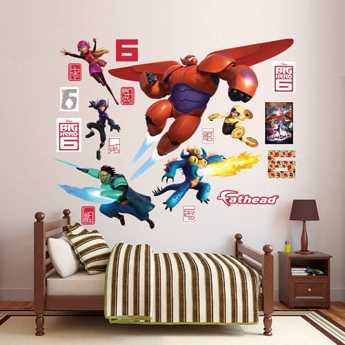 Fathead RealBig Disney Big Hero 6 Wall Decal