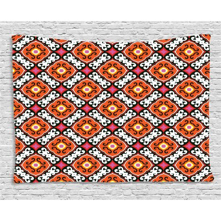 Turkish Pattern Tapestry Bold Floral Motifs With Inspirations From Awesome Turkish Pattern