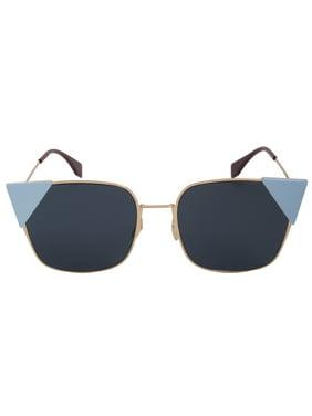 7c0053f8a68 Product Image Fendi Lei Square Sunglasses FF0191S 000 A9 55
