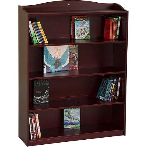 Guidecraft 5-Shelf Bookshelf, Cherry