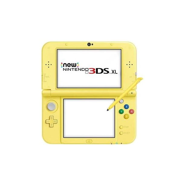 New Nintendo 3DS XL Pikachu Yellow Edition