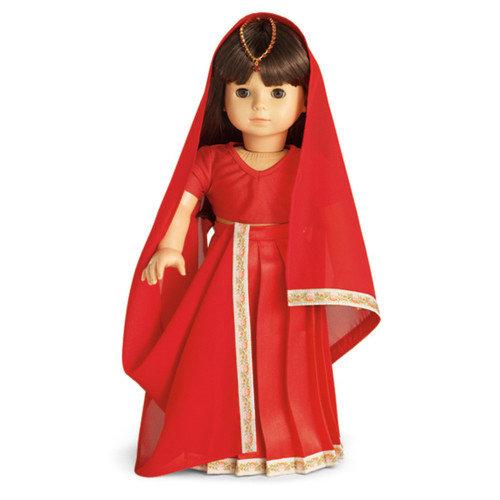 Carpatina Indian Sari Outfit fits 18'' American Girl  Dolls