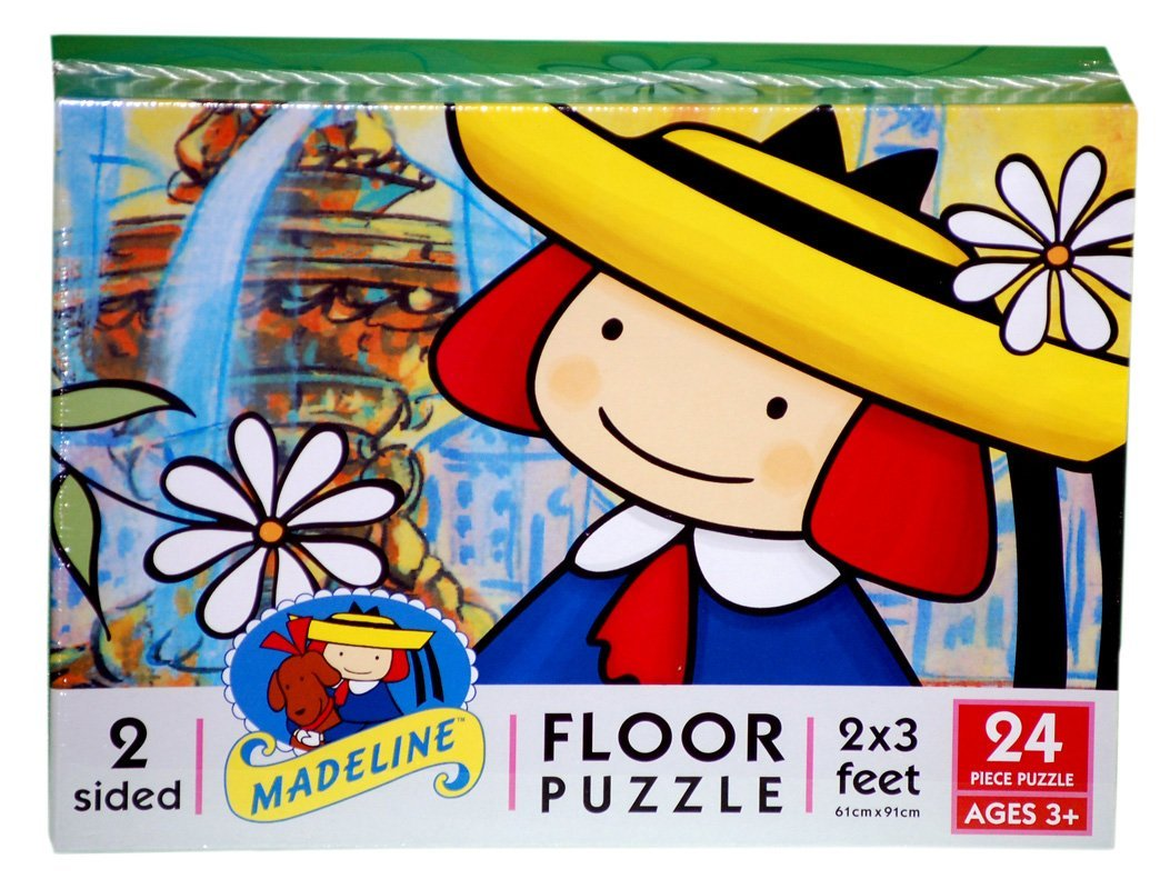 Madeline-24 Piece Floor Puzzle, 24 pieces By Ceaco by