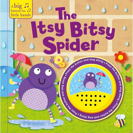 Itsy Bitsy Spider (Board Book) - Meaning Of Seeing A Spider On Halloween