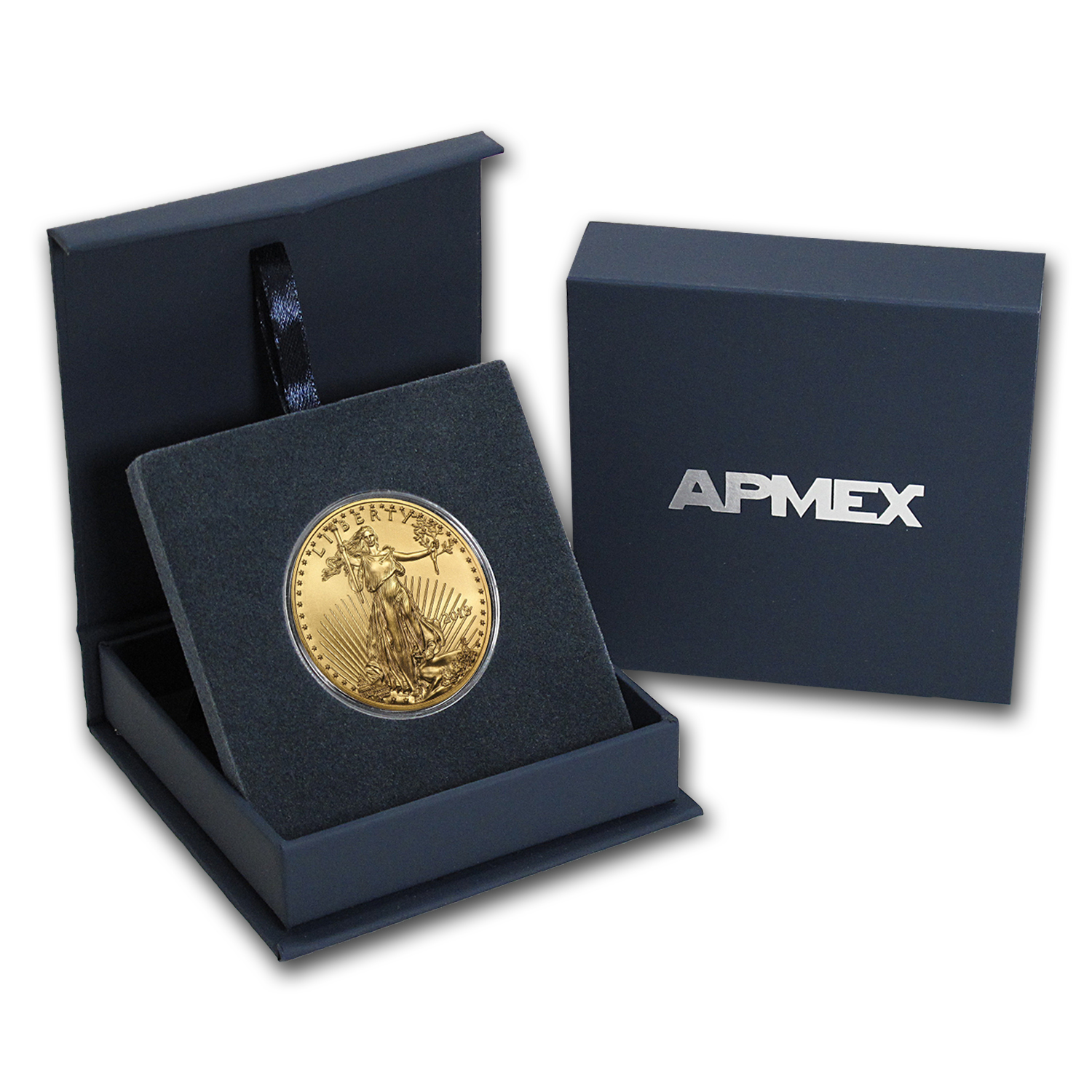 2018 1 oz Gold American Eagle BU (w/APMEX Gift Box)