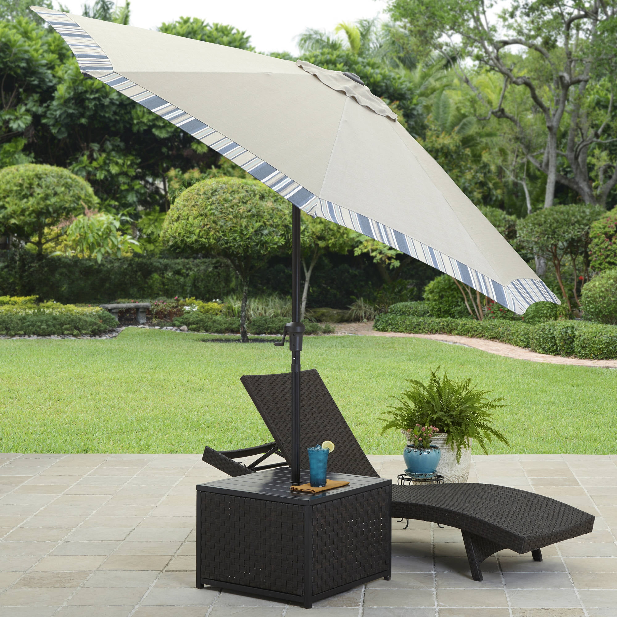 Better Homes and Gardens Avila Beach Umbrella Table - Walmart.com