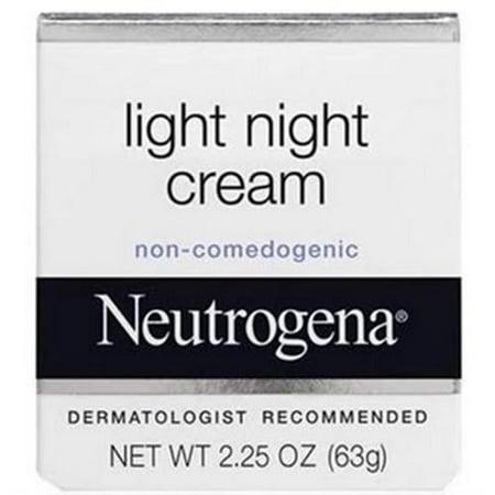 neutrogena light night cream oz pack of 2. Black Bedroom Furniture Sets. Home Design Ideas