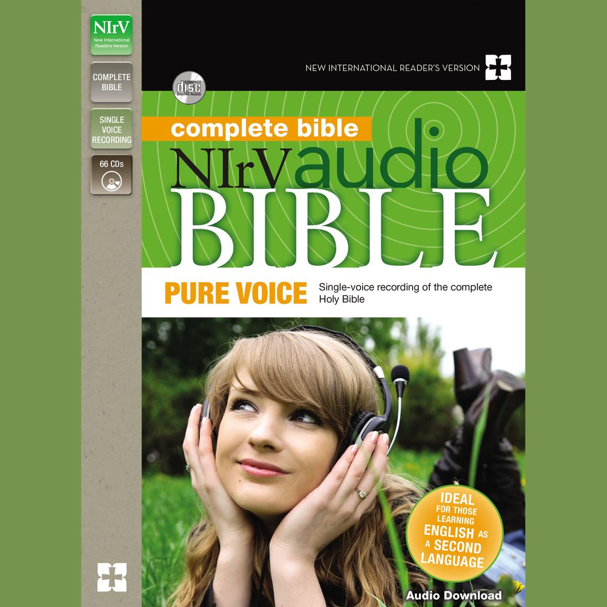 Pure Voice Audio Bible - New International Reader's Version, NIrV: Complete Bible - Audiobook