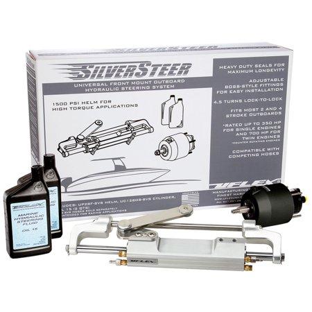 Uflex Usa SILVERSTEERXP1T Uflex Silversteer Outboard Hydraulic Tilt Steering System - Uc130 V1