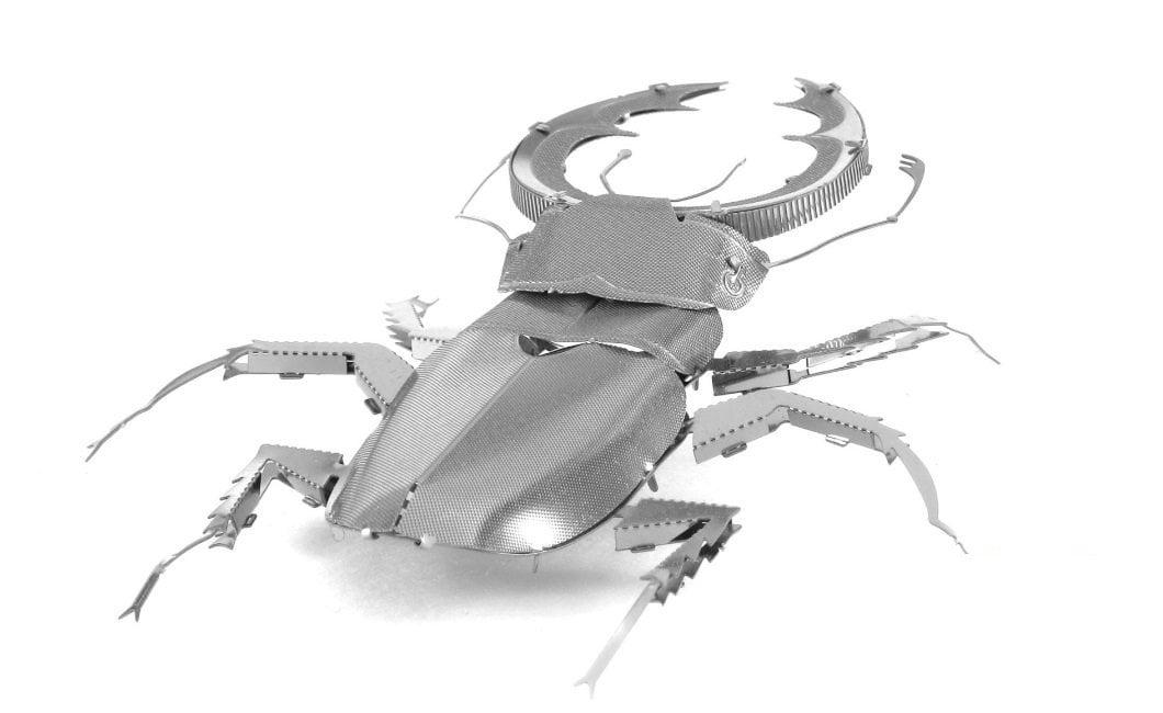 Fascinations Metal Earth Stag Beetle 3D Metal Model Kit by Metal Earth