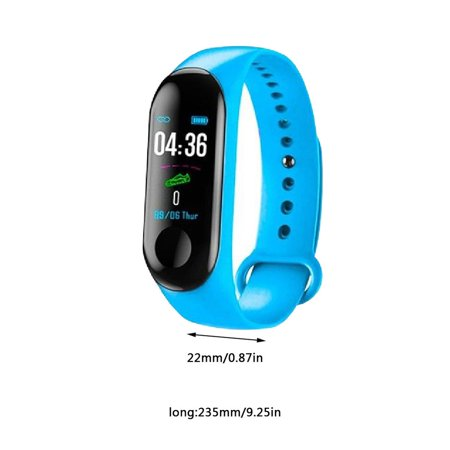 Fitness Tracker,Activity Health Tracker Waterproof Smart Watch Wristband with Blood Pressure Heart Rate Sleep Monitor Pedometer Step Calorie Counter for Android and iPhone - image 9 de 9