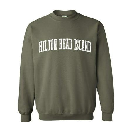 Hilton Head Island South Carolina Sweatshirt Home Of University Of