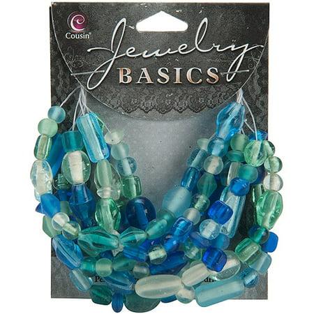 Jewelry Basics Glass Bead Mix, 50g