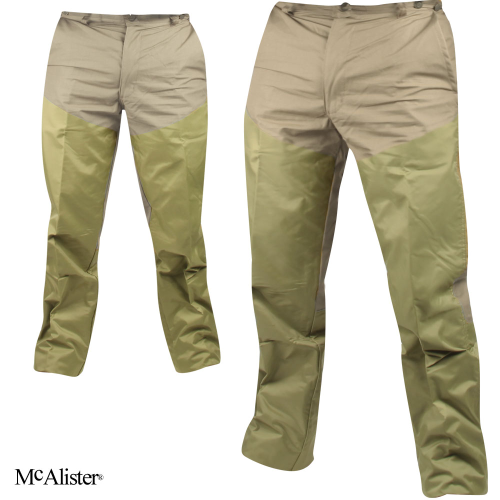 McAlister Nylon-Faced Upland Pants (32)- Tan