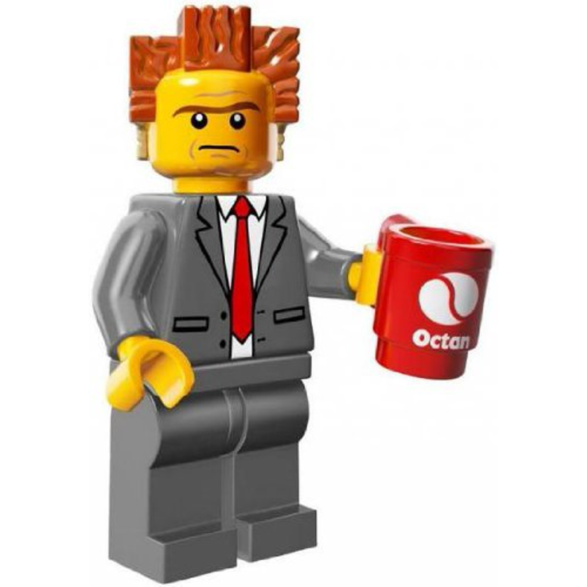 Lego Series The Lego Movie Minifigure President Business Lord Business 71004 Walmart Canada