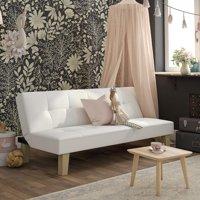 Aria Futon Sofa Bed, White