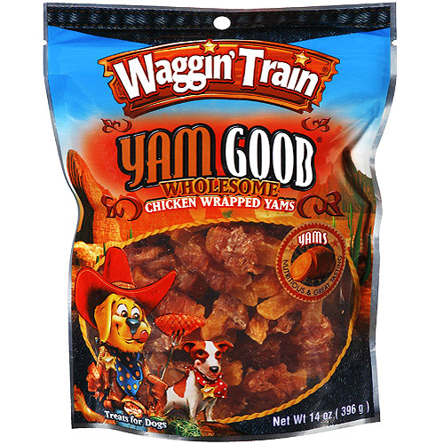 Waggin' Train Yam Good Dog Treats, 14 oz.