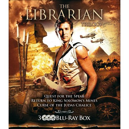 The Librarian Trilogy - 3-Disc Set ( The Librarian: Quest for the Spear / The Librarian: Return to King Solomon's Mines / The Librarian: The Curse of the Ju [ Blu-Ray, Reg.A/B/C Import - Netherlands