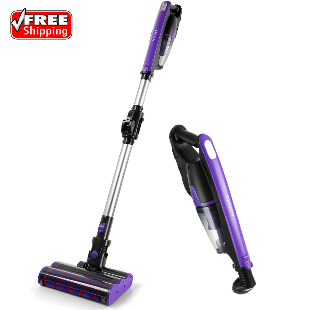 Cordless Stick Vacuum Albohes 2 In 1 Cordless Vacuum