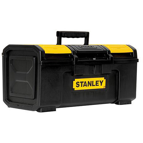 "Stanley 1-Touch Plastic Latch Tool Box, 19"", STST19410"