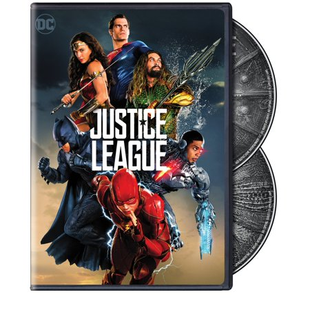 Justice League (2017) (Special Edition) (DVD) (Wild Adventure Halloween 2017)