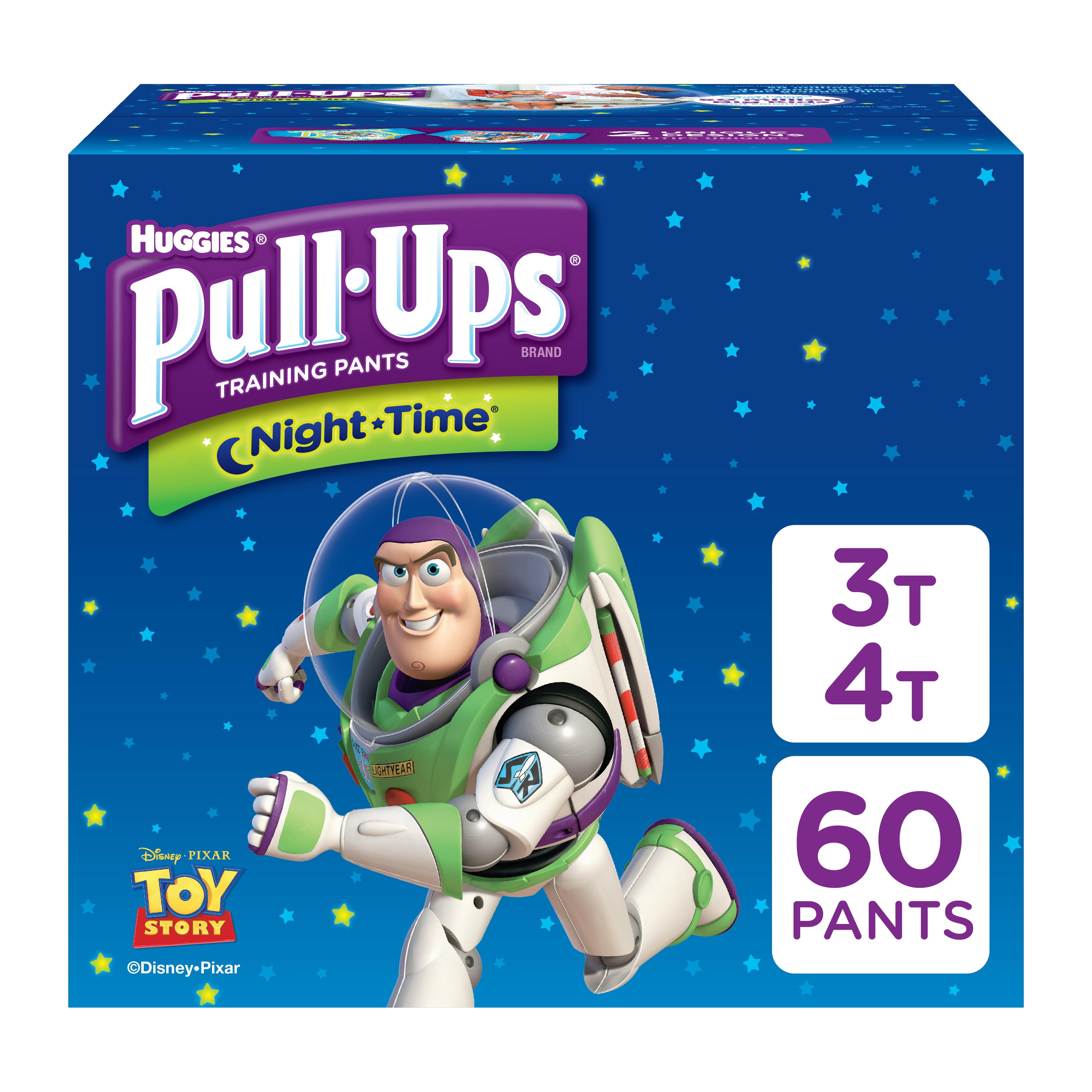Nappies Huggies Drynites Boys Pyjama Pants 4-7 Years Pack Of 30 Free P & P Baby