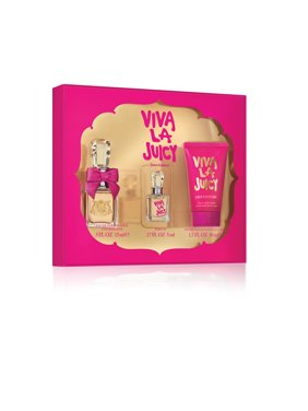 ($49 Value) Juicy Couture Viva la Juicy Perfume Gift Set for Women, 3 pieces
