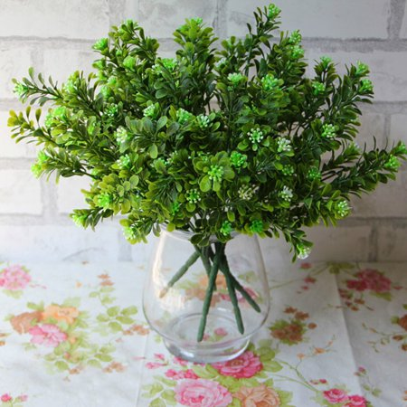 False Holly (Artificial Fake Leaf Holly Leaves Simulation Leaves Wedding Party Home Decor )