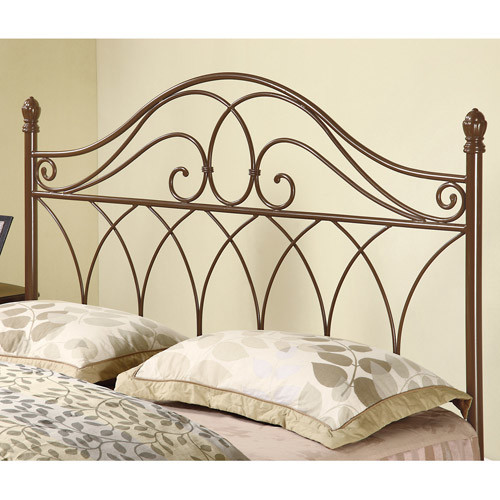 Coaster Full Queen Metal Headboard, Brown by Coaster