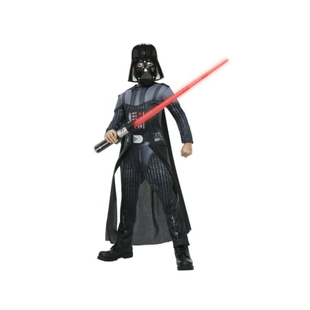 Star Wars Replica Costumes (Rubies Star Wars Darth Vader Boys Halloween)