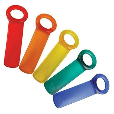 Brix JarKey Jar Opener, The Original JarPop! - Assorted Colors