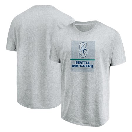 Seattle Mariners Majestic Flying High Big & Tall T-Shirt - Heathered Gray
